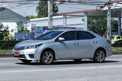 Prywatny samochód, Toyota Corolla Altis zdjęcie stock