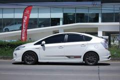 Prywatny samochód, Toyota Prius hybryd Obraz Royalty Free