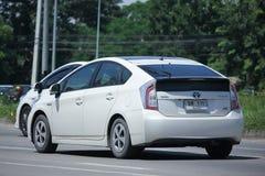 Prywatny samochód, Toyota Prius hybryd Zdjęcia Stock