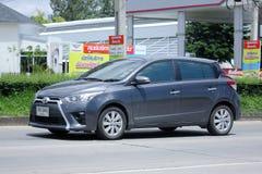 Prywatny samochód Toyota Yaris Zdjęcia Stock