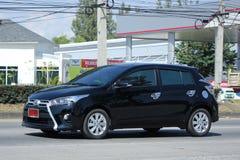 Prywatny samochód Toyota Yaris Obrazy Royalty Free