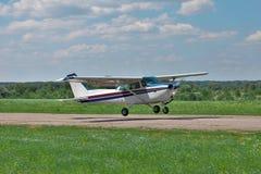 prywatny samolot światła zdjęcie stock