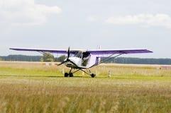 prywatny samolot Obraz Royalty Free