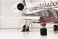 prywatny samolot fotografia royalty free
