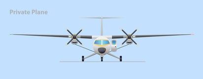 prywatny samolot Zdjęcia Royalty Free
