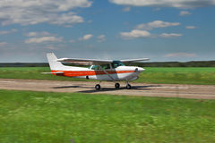 prywatny samolot zdjęcia stock