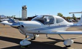 prywatny samolot mały Zdjęcia Stock