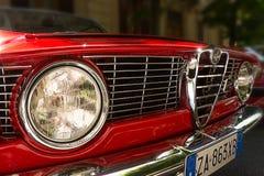 Przód Alfa Romeo GTA fotografia stock