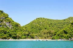 Przód Ko Wua Talap wyspa Zdjęcie Stock