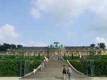 Przód pałac królewski w Potsdam Fotografia Stock