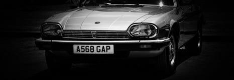 Przód retro samochód obraz royalty free