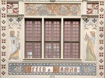 Przód sławna księgarnia w Porto Livraria Lello obraz stock