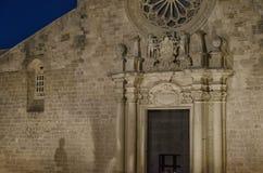 Przód sławna Otranto katedra Obrazy Royalty Free