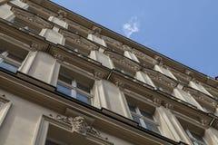 Przód stary budynek w Berlin Zdjęcie Stock