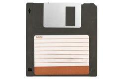 Przód stary magnesowy disket Obrazy Stock