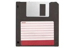 Przód stary magnesowy disket Zdjęcie Stock