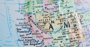 Przędzalniana kuli ziemskiej mapa Nevada usa 4K zbiory