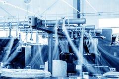 Przędzalniana przędzalniana maszyna Zdjęcie Royalty Free