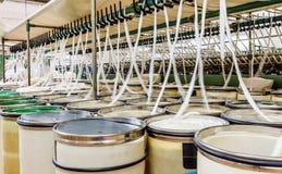 Przędzalniana fabryka Zdjęcia Stock