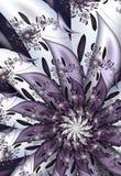 Przędzalniany kwiecisty fractal wizerunek Obrazy Stock