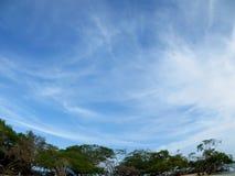 Przędzalniany niebieskie niebo Obraz Stock