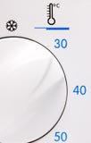 przełącznikowa temperatura Zdjęcia Royalty Free