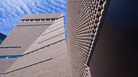 Przełącznikowy dom, nowy skrzydło tate modern galeria sztuki, Londyn, Engla obraz stock