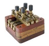 przełącznikowy drut Zdjęcie Stock