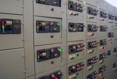 Przełącznikowy panel. zdjęcia stock