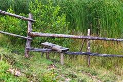 Przełaz w Rumunia wsi ogródach zdjęcia royalty free