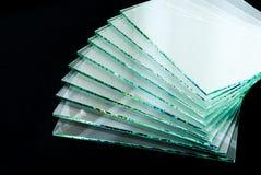 Prześcieradła Fabryczna produkcja hartujący jaśni pływakowego szkła panel ciący sortować obraz royalty free
