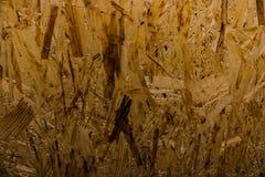 Prześcieradło dykta z czerepami ściśnięty trociny zdjęcie royalty free