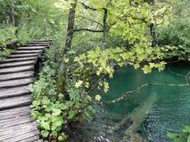 PLITVICE jezioro Zdjęcia Stock