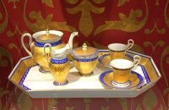 Prześwietny kawa set Obraz Royalty Free