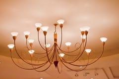 Prześwietny lampion Zdjęcie Stock
