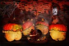 Przebiegłość Halloween Obraz Royalty Free