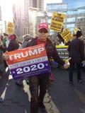 Przebija 2020 wybory, kobiety ` s Marzec, NYC, NY, usa Fotografia Stock