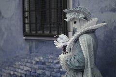 przebranie 1800s, prawdziwa cukierki maska zdjęcie stock
