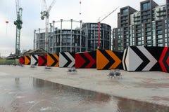 Przebudowa pod sposobem przy królewiątka ` s krzyżem, Londyn Zdjęcie Stock