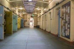 Przebywanie w areszcie komórki, Adelaide Gaol, Adelaide, Południowy Australia Fotografia Stock