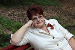 Przechodzić na emeryturę TARGET436_0_ Kobiety zdjęcia royalty free