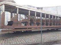 Przechodzić na emeryturę tramwaj zdjęcie royalty free