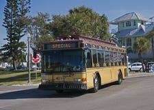 Przechodzi Grille Floryda tramwaj Obrazy Stock