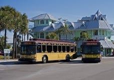 Przechodzi Grille Floryda tramwaj Obraz Royalty Free