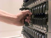 przechowywania danych Fotografia Stock