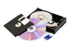 przechowywanie danych cyfrowych obraz stock