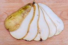 przecięcie pear obraz royalty free