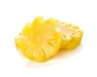 przecięcie ananasy Obrazy Royalty Free