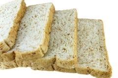 przecięcie chleb Zdjęcie Stock
