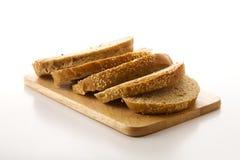 przecięcie chleb Fotografia Royalty Free